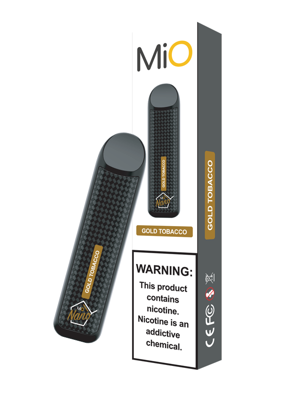 MiO Nano Gold Tobacco 50MG